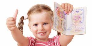 dziewczynka, dziecko, paszport,