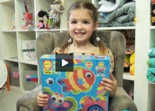 dziewczynka, gry dla dzieci, zabawki kreatywne