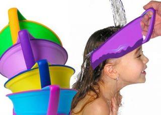dziewczynka, mycie głowy