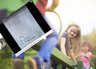 Dziewczynka napisała list do prezydenta