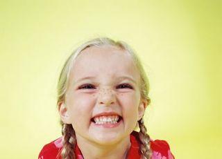 dziewczynka, uśmiech