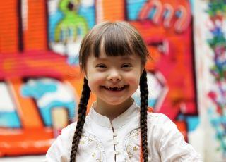Dziewczynka z zespołem Downa