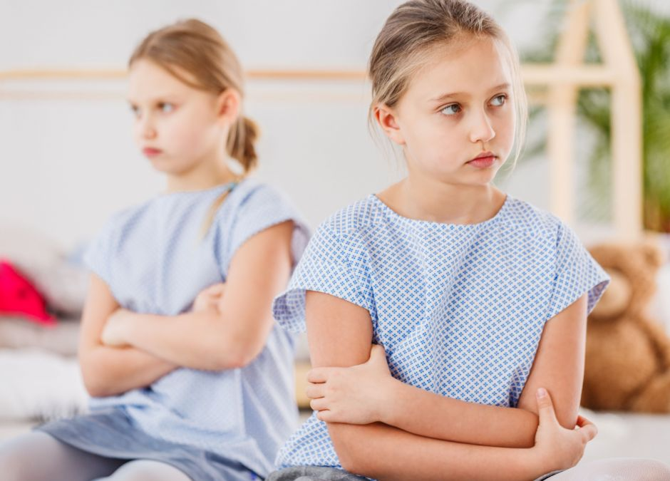 Dziewczynki, które się kłócą