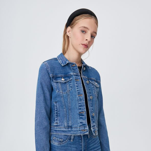 kurtka jeansowa sinsay