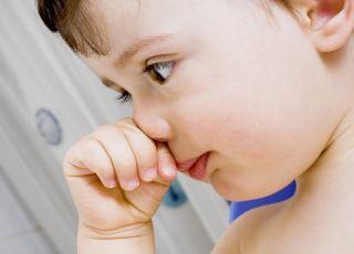 dziwne, zapalenie, dziecko, alergia