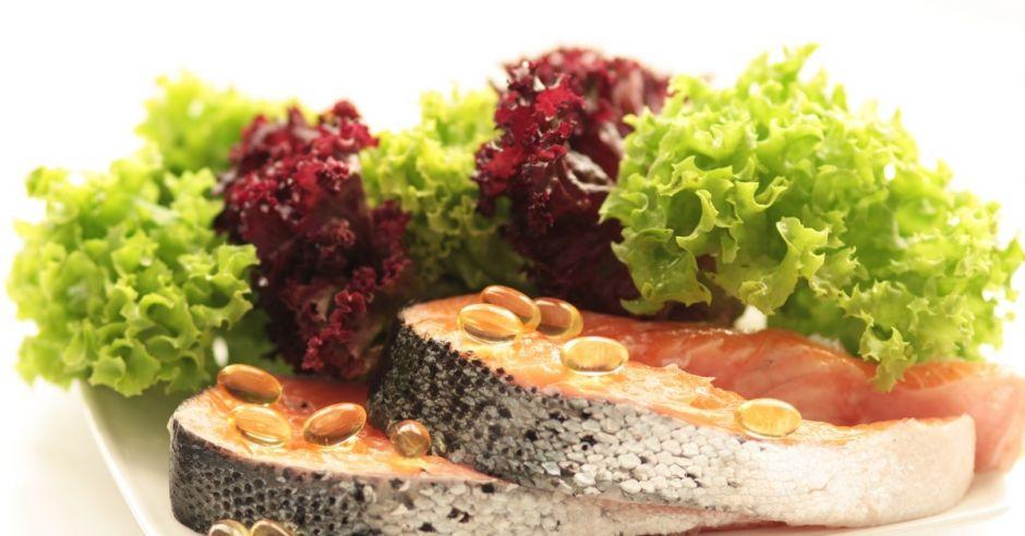 Dzwonki z łososia, łosoś, omega-3, sałata