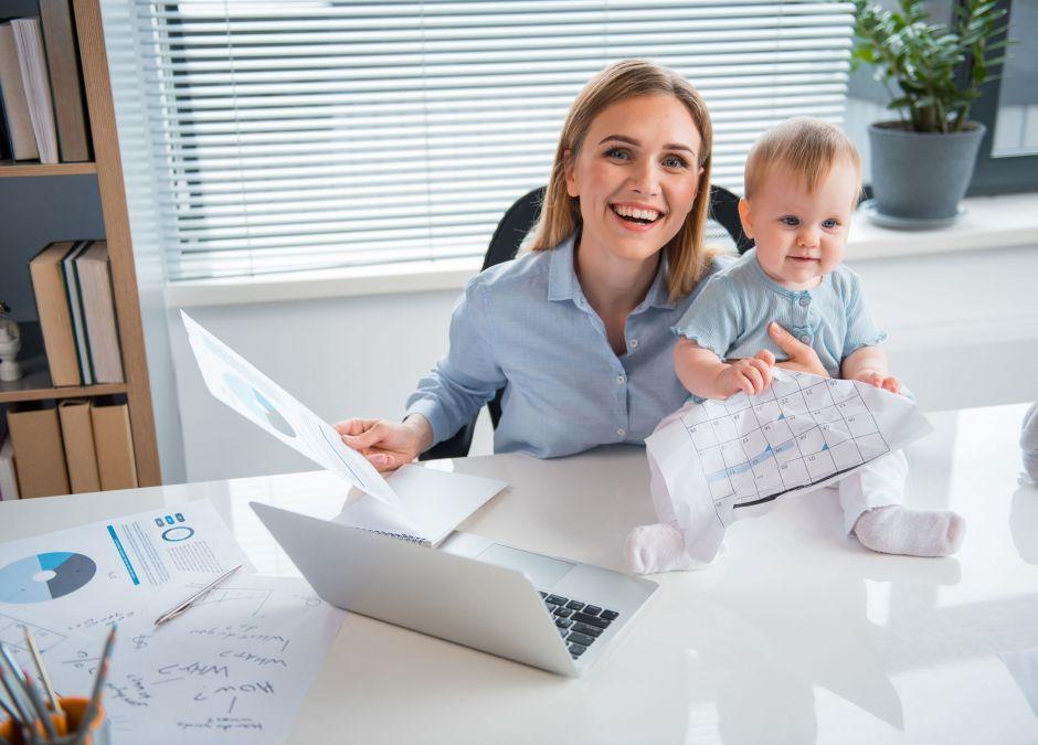 efekt piaskownicy, pracująca mama