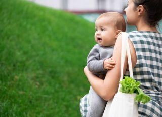 ekologiczne niemowlę