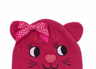 Fajna wiosenna czapka dla dziecka
