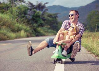 Fajny tata, dobry ojciec, jak być dobrym ojcem, ojcostwo, tacierzyństwo, rola taty, jak wychowuje tata, czego tata uczy dziecko