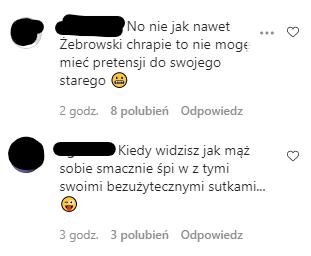 """Fanki Oli Żebrowskiej dają """"rady"""" na chrapiących ojców"""