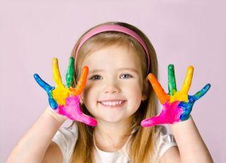 Farbki do malowania ciała dla dzieci