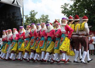Festiwal ludowy w Kielcach 2014