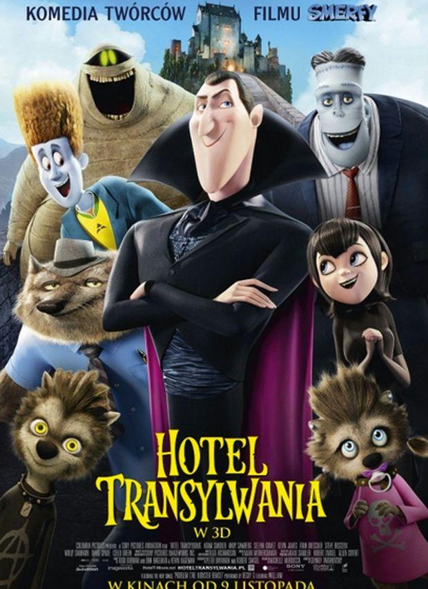 Hotel Transylwania: filmy na halloween dla dzieci
