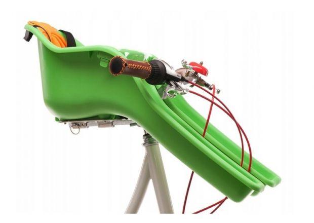 fotelik rowerowy przedni iBert T-seat