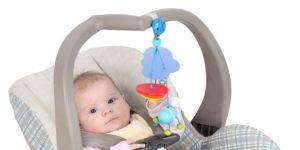 fotelik samochodowy, niemowlę