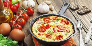 frittata, omlet, jajka, śniadanie