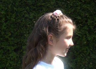 fryzura komunijna