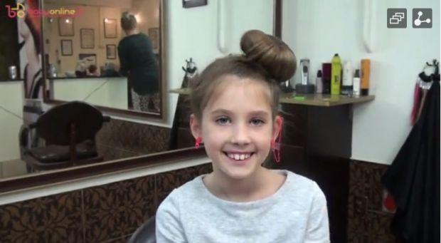 fryzury dla dziewczynek do pzredszkola