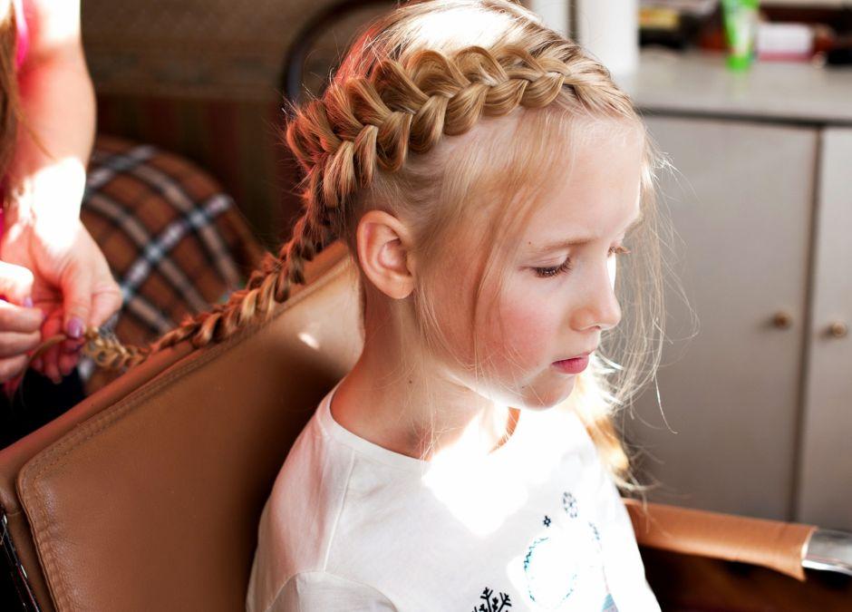 Fryzury Z Warkoczem Dla Dziewczynek Foto Strona 4