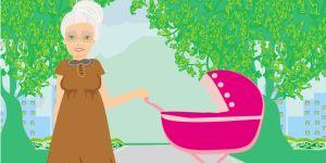 Gdy babcia jest nianą