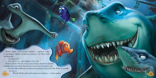Gdzie jest Nemo, książka dla dzieci