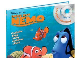 Gdzie jest Nemo, Czytaj i słuchaj, książka dla dzieci, płyta dla dzieci