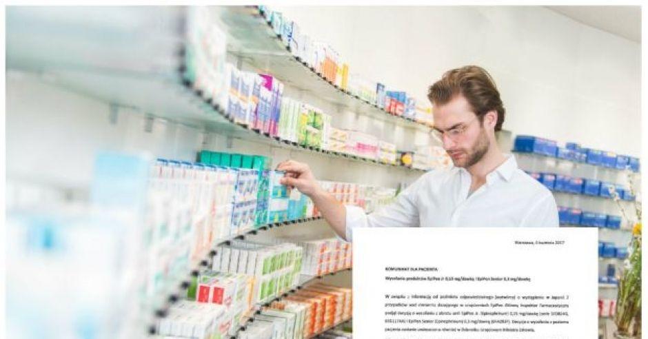 GIF wycofuje lek dla alergików EpiPen