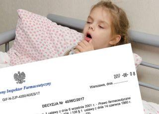 GIF wycofuje lek na kaszel dla dzieci i dorosłych