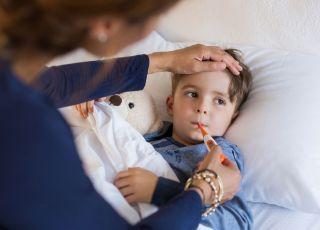 Nie obniżaj gorączki bez potrzeby…