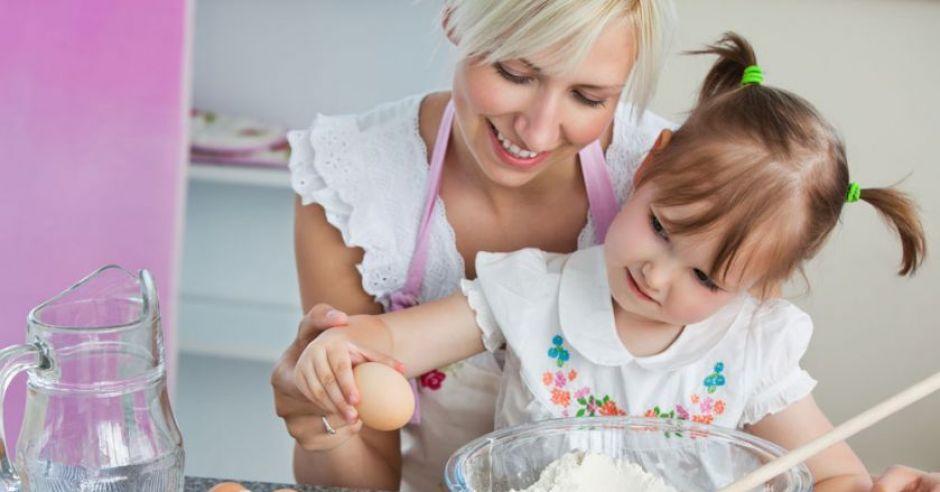 gotowanie, dziecko