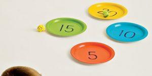 gra dla dzieci, zabawa dla dzieci, gra w talerze