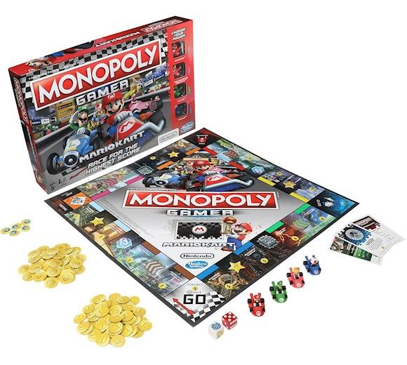gra Monopoly Mario