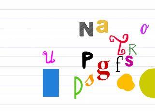 Gra online dla dzieci - znajdz literkę