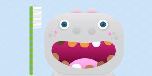 gra online dla dziecka - mycie zębów