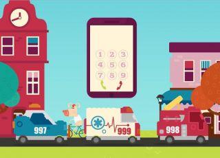 gra online, numery alarmowe, gra dla dzieci