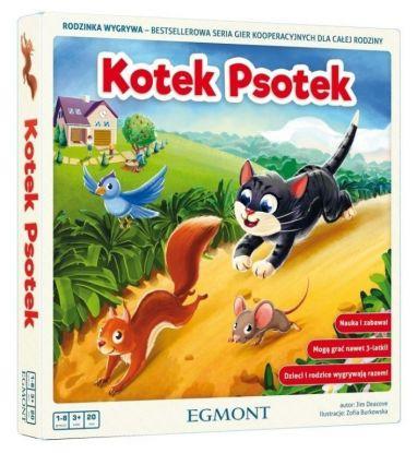 Kotek Psotek, gra dla dzieci