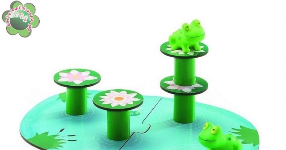 Gra Skaczące żabki Djeco