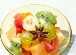 gruszka, gruszki, kiwi, arbuz, melon, sałatka owocowa, sałatka, owoce