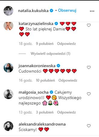 Sławni składają życzenia córeczce Natalii Kukulskiej