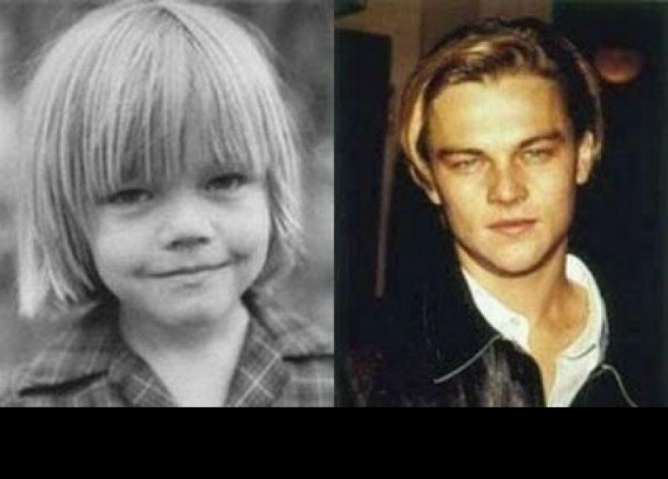 Gwiazdy w dzieciństwie - Leonardo DiCaprio