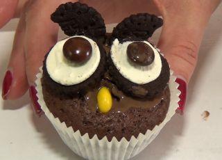 Halloween, ciasteczka sowy, ciasteczka na halloween