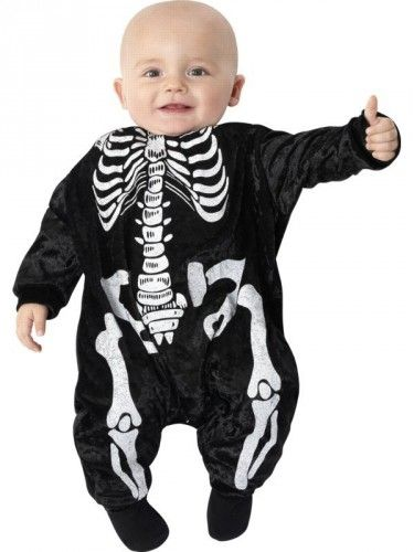 body dla dziecka z kościami kościotrup