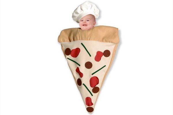 przebranie dla dziecka na halloween pizza