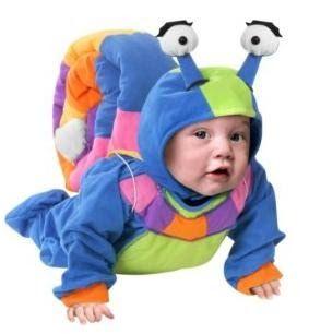 przebranie dla dziecka na halloween ślimak