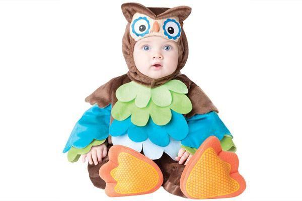 przebranie dla dziecka sowa na halloween