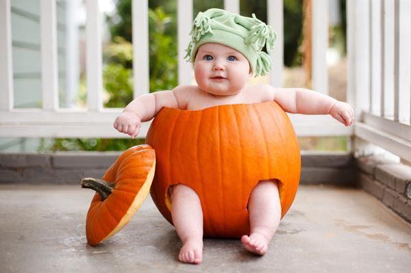 przebranie za dynię na halloween
