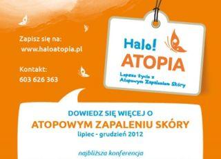 Halo Atopia, atopowe zapalenie skóry, atopia, azs