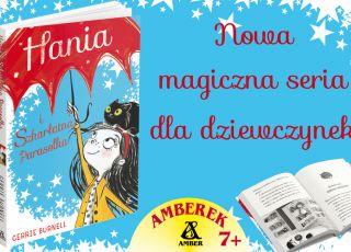 Hania i Szarłatna parasolka - ksiązka Amber