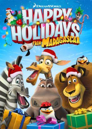 Happy Holidays from madagascar netflix